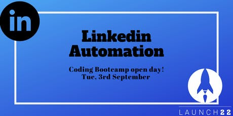 Coding Bootcamp  Open Day: Linkedin Automation tickets