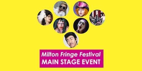Milton Fringe Festival Saturday Evening Performance tickets