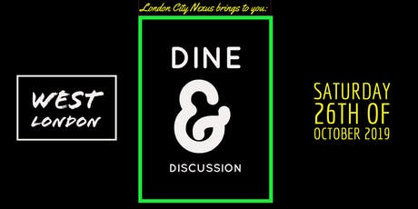Dine and Discussion tickets