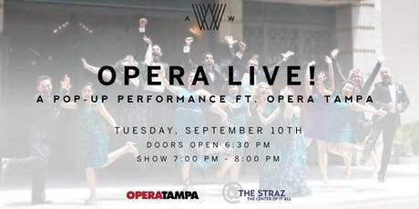 Opera Live! A Pop-Up Performance Ft. Opera Tampa tickets