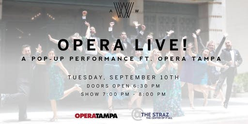 Opera Live! A Pop-Up Performance Ft. Opera Tampa