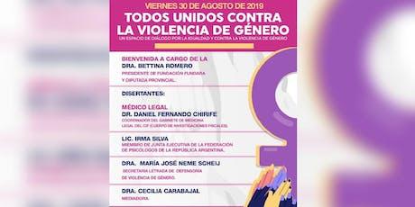 """""""Todos unidos contra la Violencia de Género"""" entradas"""
