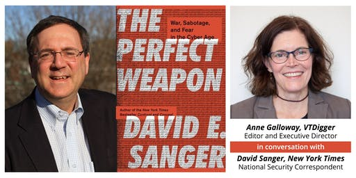 A VTDigger Conversation with New York Times National Security Correspondent David Sanger