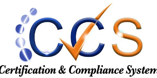 Certification and Compliance System (CCS)- Contract Module Training
