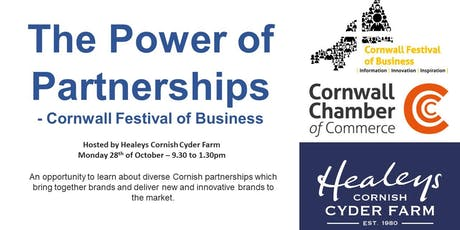 The Power of Partnerships - Healeys host Cornwall's Festival of Business tickets