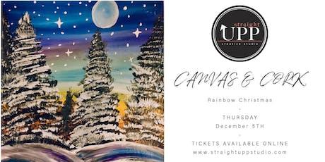 Canvas & Cork | Rainbow Christmas tickets