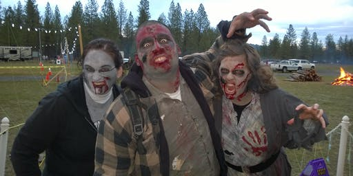 Zombie Volunteers - Riverside State Park Haunted Zombie Hike