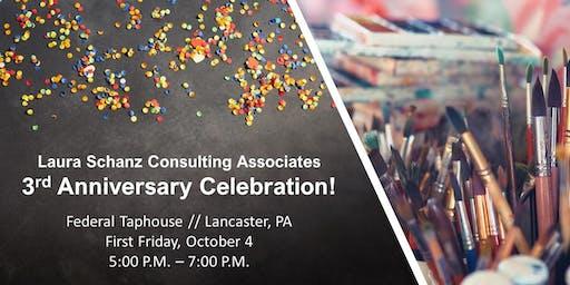 Laura Schanz Consulting Associates 3rd Anniversary
