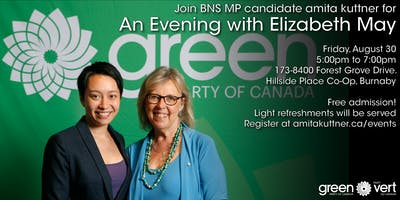 An Evening with Elizabeth May