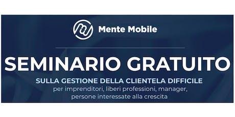Seminari - Mente Mobile - Per diventare una persona migliore biglietti