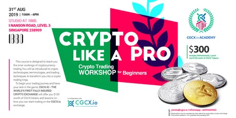Trade Crypto Like A Pro: Cryptocurrency Trading Workshop for Beginners tickets