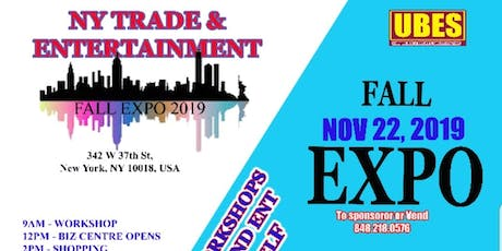 NY Trade & Ent Fall Expo tickets