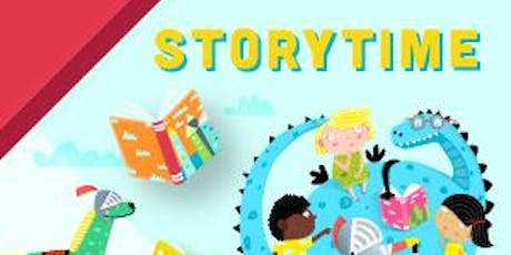 Storutime: Little  Monsters in the Library billets