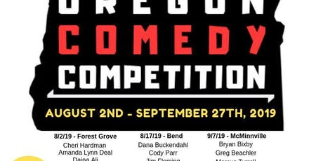 The Oregon Comedy Competition - McMinnville tickets