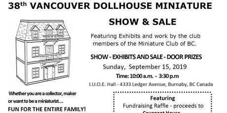 Vancouver Dollhouse Miniature Show tickets