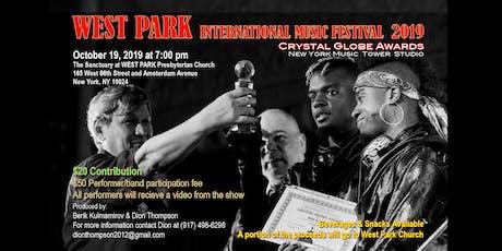 WEST PARK INTERNATIONAL MUSIC FESTIVAL 2019, Producer Dion Thompson tickets