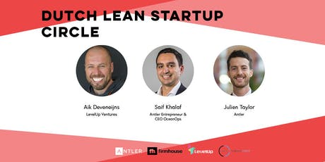 How to Find your Co-Founder with Dutch Lean Startup Circle & Antler tickets
