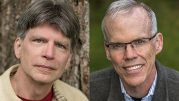 Authors Richard Powers & Bill McKibben