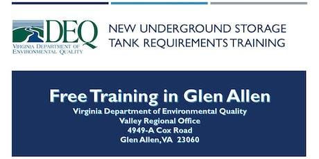Underground Storage Tank Regulation Training - Glen Allen tickets