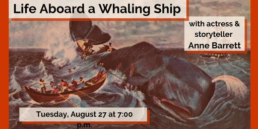Live Performance: Life Aboard a Whaling Ship