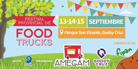FESTIVAL DE FOOD TRUCKS AMEGAM entradas