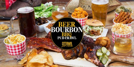 Beer, Bourbon & BBQ Pub Crawl | Ottawa tickets