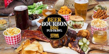 Beer, Bourbon & BBQ Pub Crawl | Ottawa tickets