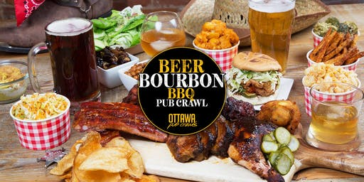 Beer, Bourbon & BBQ Pub Crawl | Ottawa