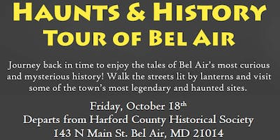 3rd Annual Haunts and History Tour *FRIDAY NIGHT SPECIAL*