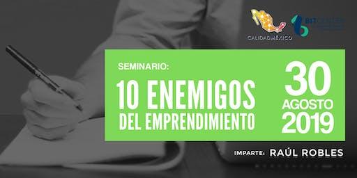 10 Enemigos del Emprendimiento