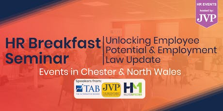 HR Breakfast Seminar – Unlocking Employee Potential & Employment Law Update tickets