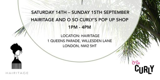 O So Curly Pop Up Shop @ Hairitage