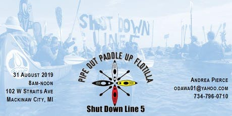 5th Pipe Up Paddle Out Flotilla tickets