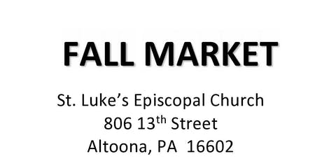 Vendors Wanted for Fall Market tickets