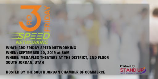 3rd Friday Speed Networking