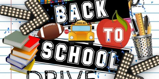 Annual Back-to-School Drive