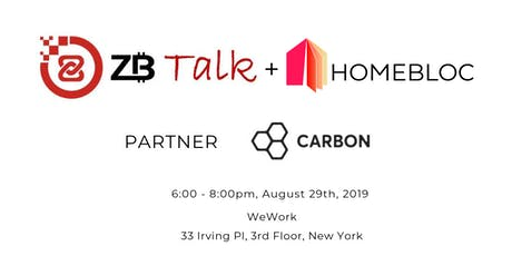 ZB Talk + Homebloc tickets