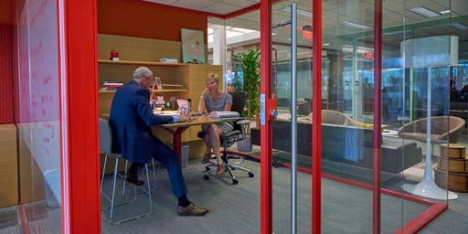 Speech Privacy in Adaptable Workspaces CEU by Haworth + Price Modern