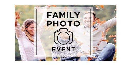 Client Appreciation Family Photo Event