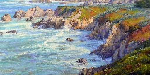 Pastel Painting Demonstration with Aaron Schuerr