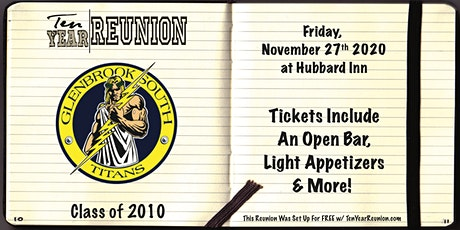 Glenbrook South Class of 2010: Ten Year Reunion tickets