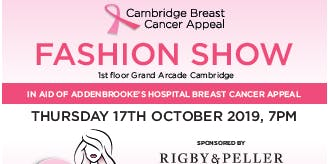 Cambridge Breast Cancer Appeal Fashion Show 2019