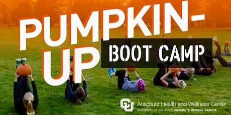 Pumpkin-Up Boot Camp tickets