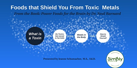 WFPB - Foods That Shield You from Toxic Metals - Lecture and Cooking Demo tickets