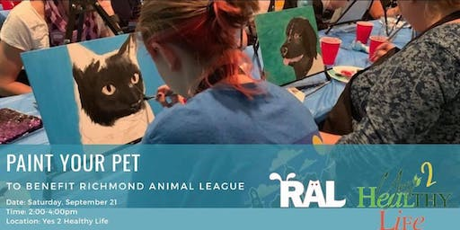 Paint Your Pet to Benefit RAL