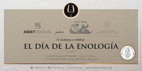 Celebración Día de la Enología - ASEET Mendoza entradas