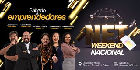 NetWeekend - Sábado de emprendedores boletos