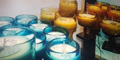 Uka Market Candlemaking Workshop at Woodnote Cabin! tickets