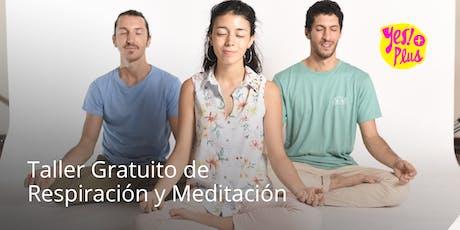 Taller Gratuito de Respiración y Meditación en Palermo - Introducción al Yes!+ Plus entradas