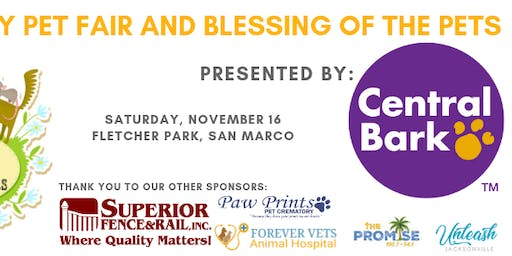 7th Annual Family Pet Fair and Blessing of the Pets